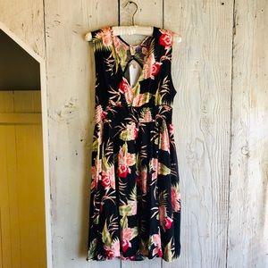 Floral Roxy dress
